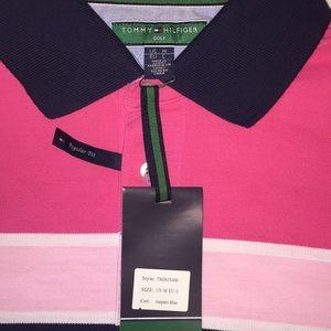 Tommy Hilfiger Shirts - NWT Tommy Hilfiger Golf shirt. Medium regular fit